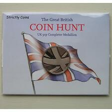 50p (Fifty Pence) Completer Medallion Medal The Great British Coin Hunt Freepost