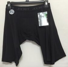 Jockey Sport 2-Microfiber Quad Shorts  X-Large (40-42)  Black  (0569)