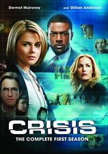 Crisis: Complete First Season 1 (Gillian Anderson)  - Region Free DVD - Sealed