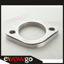 "A SET OF 2.25"" 2-BOLT Exhaust Flange and Exhaust Gasket  for 2 bolt Flange"