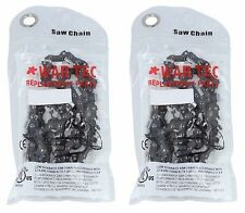 Pack Of 2 Chainsaw Chain 325 Pitch 058 or 1.5mm Gauge 76 Drive link DL GHS 4329