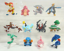 12 Pokemon Figures Palkia Darkrai Shinx Happiny Infernape Heatran Empoleon