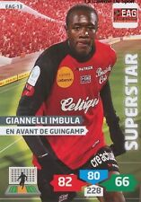 EAG-13 GIANNELI IMBULA # GUINGAMP CARD ADRENALYN FOOT 2014 PANINI