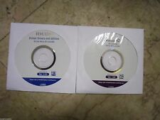 New ! Genuine Ricoh Aficio SP C240DN Manuals and CD Printer Drivers Utilities