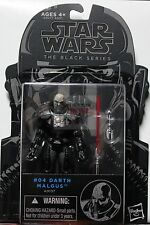 "DARTH MALGUS #04 Hasbro Star Wars THE BLACK SERIES 2014 3.75"" ACTION FIGURE"