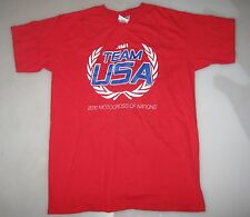 2010 TEAM USA MOTOCROSS OF NATIONS TEAM ISSUE ONLY T-SHIRT S fox racing mxdn