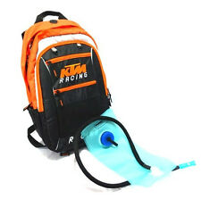 New KTM Motorcycle Riding Off Road Motocross Backpack Water Bag Hydration Pack