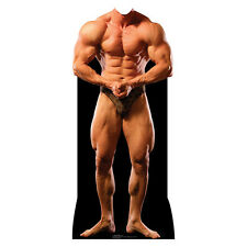 MALE BODYBUILDER Lifesize Stand-In CARDBOARD CUTOUT Standin Standup Standee Prop