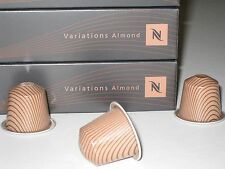 Nespresso ALMOND Capsules VARIATIONS Limited Edition Coffee Espresso SUPER RARE!