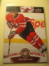 Taylor Hall 2010 Upper Deck World Of Sports Card # 191
