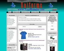 UNIFORMS SHOP. Make Money Online Sell Military Clothes, Website, Domain For Sale