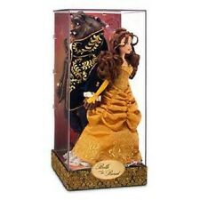 DISNEY BEAUTY AND THE BEAST FAIRYTALE DESIGNER DOLL SET-NEW