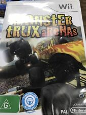 MONSTER TRUX ARENAS NINTENDO WII CONSOLE GAME