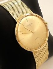 Patek Philippe Calatrava Vintage 18K Yellow Gold Very Rare Collector's Watch