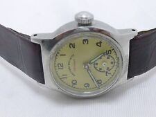 VINTAGE WEST END WATCH Co. SECUNDUS SIDE SECOND SWISS MADE RARE MENS WRIST WATCH