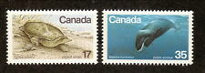 Canada--#813-14 MNH--Endangered Wildlife--1979