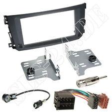 Autoradio Set 2-DIN Einbaurahmen Radioblende+Adapterkabel für Smart Fortwo BR451