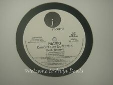 Mario, Couldn't Say No Remix Feat Smitty LP (VG) 12""