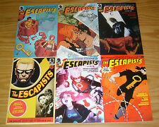 Michael Chabon's the Escapists #1-6 VF/NM complete series - brian k. vaughan set