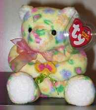 Ty Beanie Baby ~ BLOOM the Bear ~ MINT with MINT TAGS ~ RETIRED