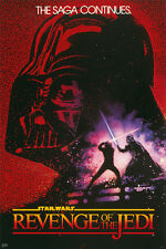 STAR WARS: EPISODE VI - REVENGE OF THE JEDI - MOVIE POSTER (INITIAL ADV. STYLE)