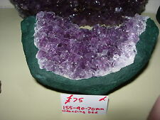 Amethyst geode cleansing bed cb3