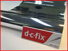DC FIX Silver Gloss 1mx45cm Sticky Back Self Adhesive Vinyl Contact Paper New