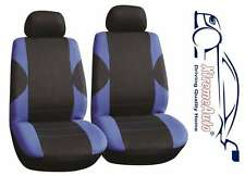6 PCE Paddington Black/Blue Front Car Seat Covers For Opel Astra Corsa Vectra In