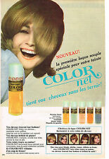 PUBLICITE  1966   COLOR NET  nouveau flacon shmpoing colorant