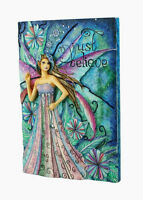 Sale! Lovely Retired Fairysite Jessica Galbreth Just Believe Fairy Wall Plaque