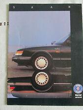 1991 Saab Suplemento (40TH aniversario) de lo que coche y autocar