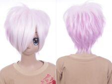W-634 Diabolik Lovers Sakamaki Subaru purple 12 3/5in Cosplay Wig Anime