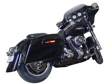 Harley Road King Electra Street Glide 2 into 1 Exhaust Shorty