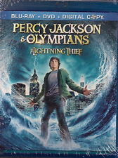 PERCY JACKSON & THE OLYMPIANS THE LIGHTNING THIEF (Blu-ray/DVD, 2010) NEW