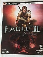 Fable II Two 2 Video Game Signature Series Strategy Guide Microsoft XBOX 360