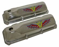 1969-82 Ford Small Block 351C-351M-400M-BOSS 302 Steel Valve Covers - 3 Color...