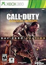 Call of Duty Advanced Warfare Day Zero Edition Microsoft Xbox 360 New COD AW