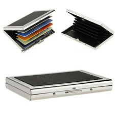 Hot Selling Waterproof Metal Case Box Business ID Credit Card Holder