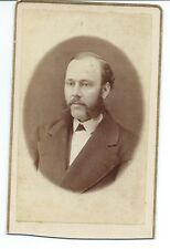 CDV of a Man with Great Sideburns, no Imprint