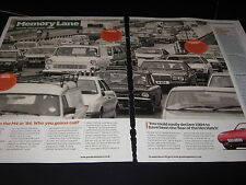 Ford Escort Mk3, Transit GMH442J, BMW FGT859T, Scimitar, M4 West London 1984