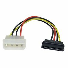 4 Pin Molex Male To Sata Power Connector Multi-Coloured Internal 0.2m Cable