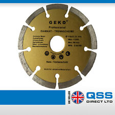 Angle Grinder Diamond Blade 115x22.2mm 13200 RPM for Concrete, Ceramic, Bricks