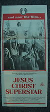 JESUS CHRIST SUPERSTAR Rare Original 1970s Daybill Movie Poster Ted Neeley