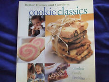 "BETTER HOMES &GARDENS COOKIE CLASSICS COOKBOOK""TIMELESS FAMILY FAVORITES YUM"