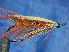 Classic flie for Atlantic salmon fly fishing - Spey fly pattern Gold Riach #1/0