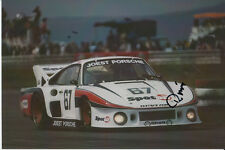REINHOLD JOEST HAND SIGNED PORSCHE 935  6X4 PHOTO 1981 1.