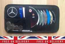 MERCEDES BENZ Car Sun Visor Shade Organiser Storage Wallet Tidy CD Pen Holder