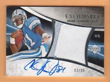 2007 Exquisite Collection Patch Autograph #130 Calvin Johnson 03/99 Auto RC
