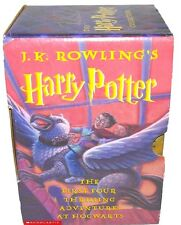 "3 of 4 books of  ""The Harry Potter Collection""  + Half Blood by J.K. Rowling"
