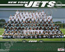 2010 NEW YORK JETS NFL FOOTBALL 8X10 TEAM PHOTO PICTURE